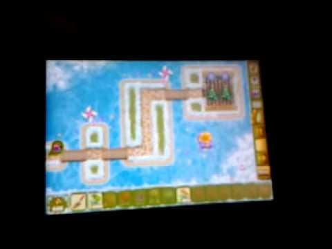 обзор игры Garden Rescue на Samsung GT S5660