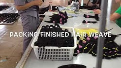 Hair Extension Factory in Qingdao China, the manufacturer of hair weave, frontal, closure, lace wigs