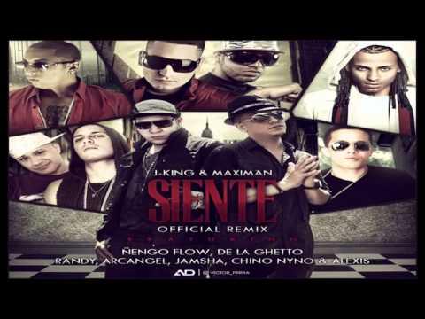 Siente Remix - J King & Maximan Ft De la Ghetto, Arcangel, Ñengo Flow y Mas... Reggaeton 2012
