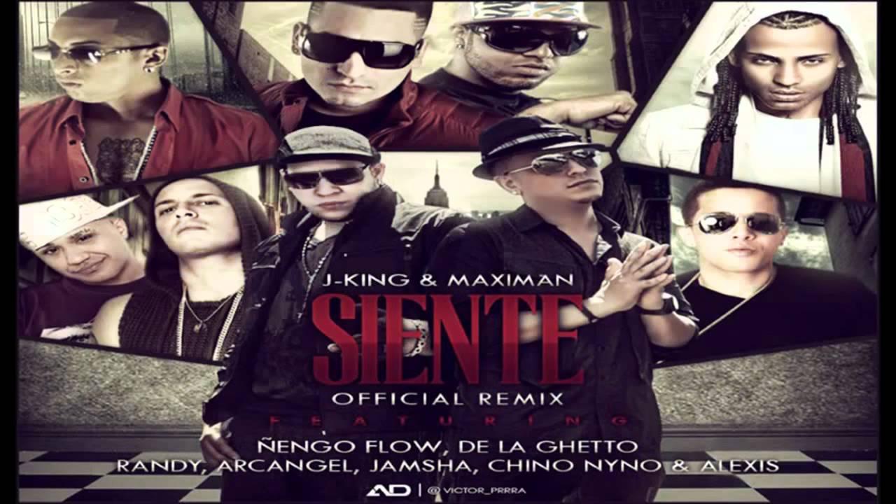 Arcangel Follando siente remix - j king & maximan ft de la ghetto, arcangel, Ñengo flow y  mas reggaeton 2012