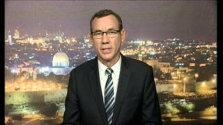 Israeli Government Spokesman Mark Regev speaks to Emily Maitlis