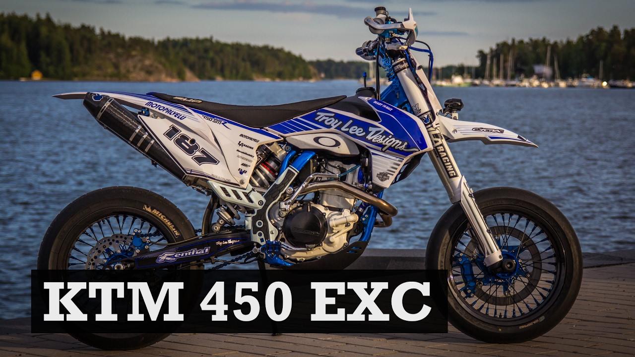Supermoto Build - KTM 450 EXC by Riku - Supermoto Central Special ...