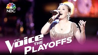 """The Voice 2017 Addison Agen - The Playoffs: """"Angel From Montgomery"""""""