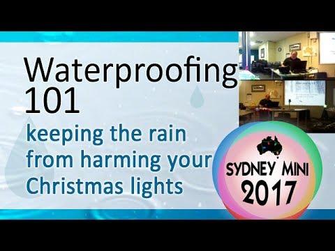 Sydney Mini 2017 - Waterproofing 101