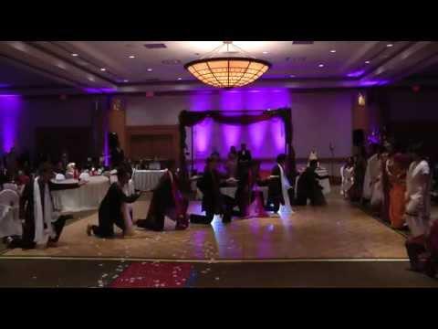 sheehadiha-bollywood-wedding-dance---ore-kanchi,-zoobi-doobi,-dekha-ek-khwab-to,-radha-medley