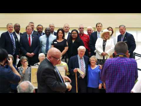 Senator Richard Burr Speaks at RCARE Dedication Ceremony