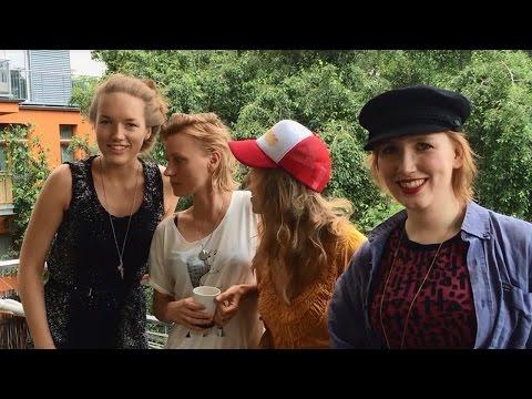 Luise Brinkmann und Team | Filmfest München 2016 | Grußbotschaft