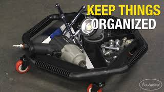 Must-Have Shop Tools: Rolling Undercar Tool Tray - Stay Organized Under the Car!