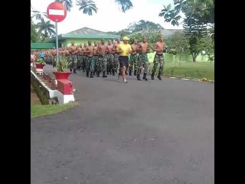 TNI macho Lari pagi