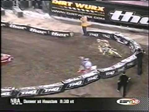 2003 Anaheim 1 250cc Heat #2 (Ricky Carmichael Vs. Travis Pastrana #1)