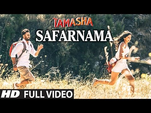 SAFARNAMA Full VIDEO song   Tamasha   A.R. Rahman, Lucky Ali   Ranbir Kapoor, Deepika Padukone