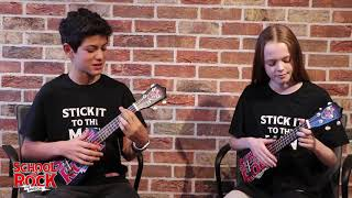 'Teacher's Pet' Ukulele Tutorial | SCHOOL OF ROCK: The Musical
