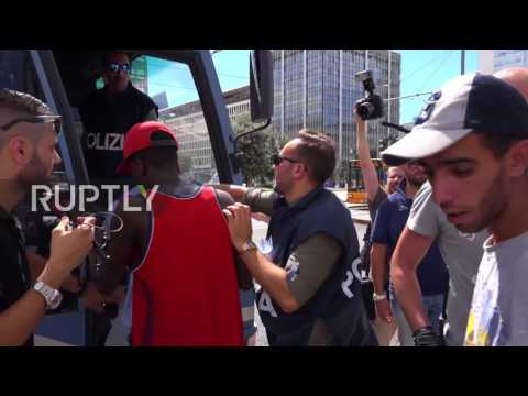 Italy: Police detain 36 outside Milan's central station after increased crime in area