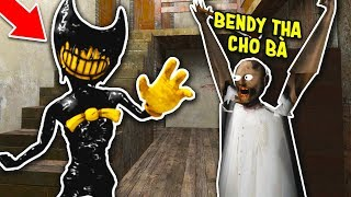 TROLL BÀ GRANNY BẰNG BENDY AND THE INK MACHINE 😂