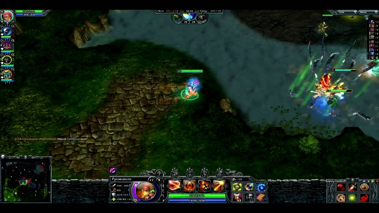 Heroes of Newerth matchmaking geen reactie van de server