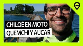 CHILOÉ EN MOTO: Tenaún, isla Aucar y Quemchi - TRIP En Moto