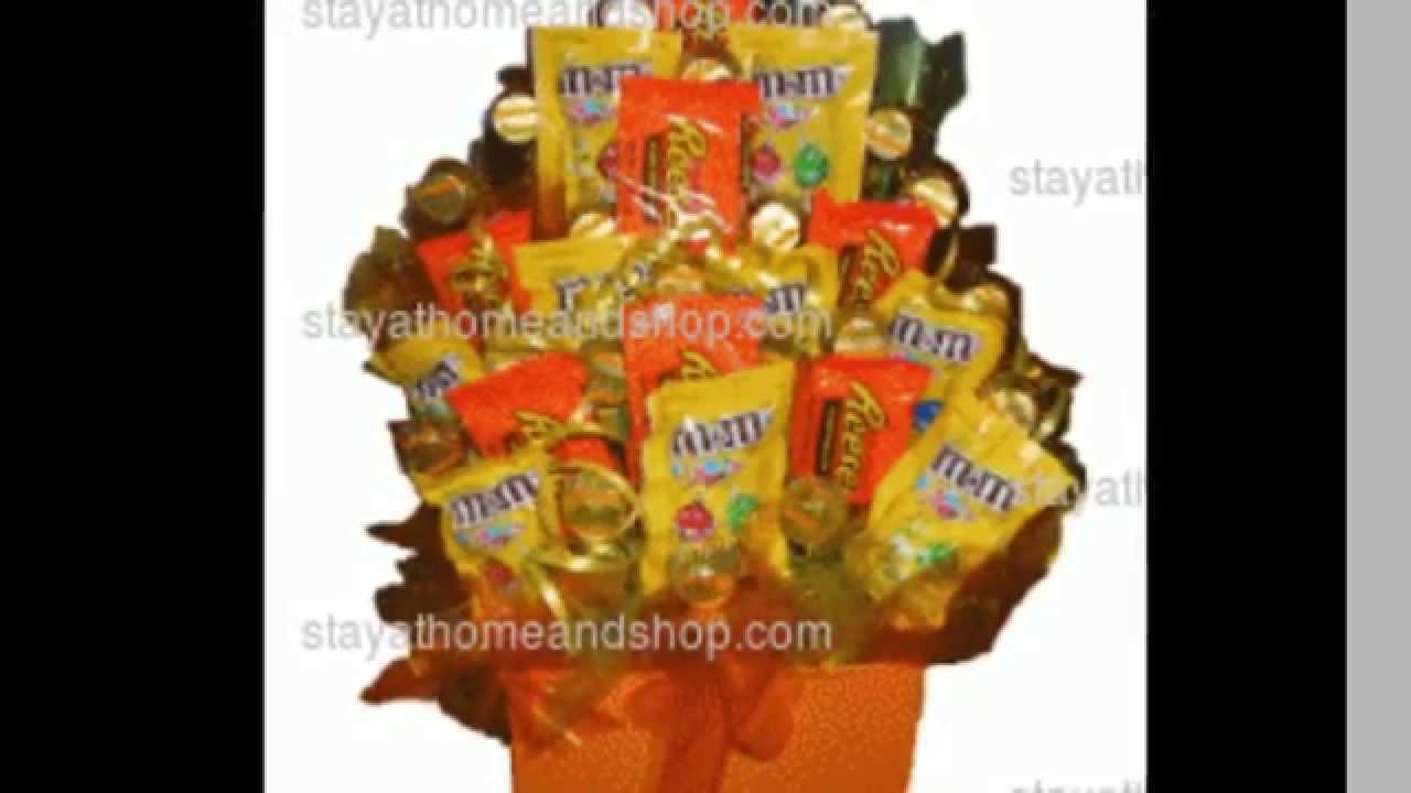 Peanut Frenzy Candy Bouquet