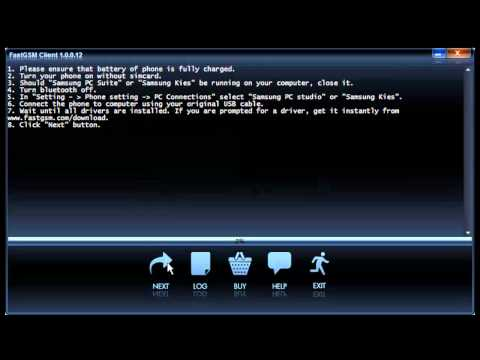 Remove SIM password on Samsung Wave II S8530