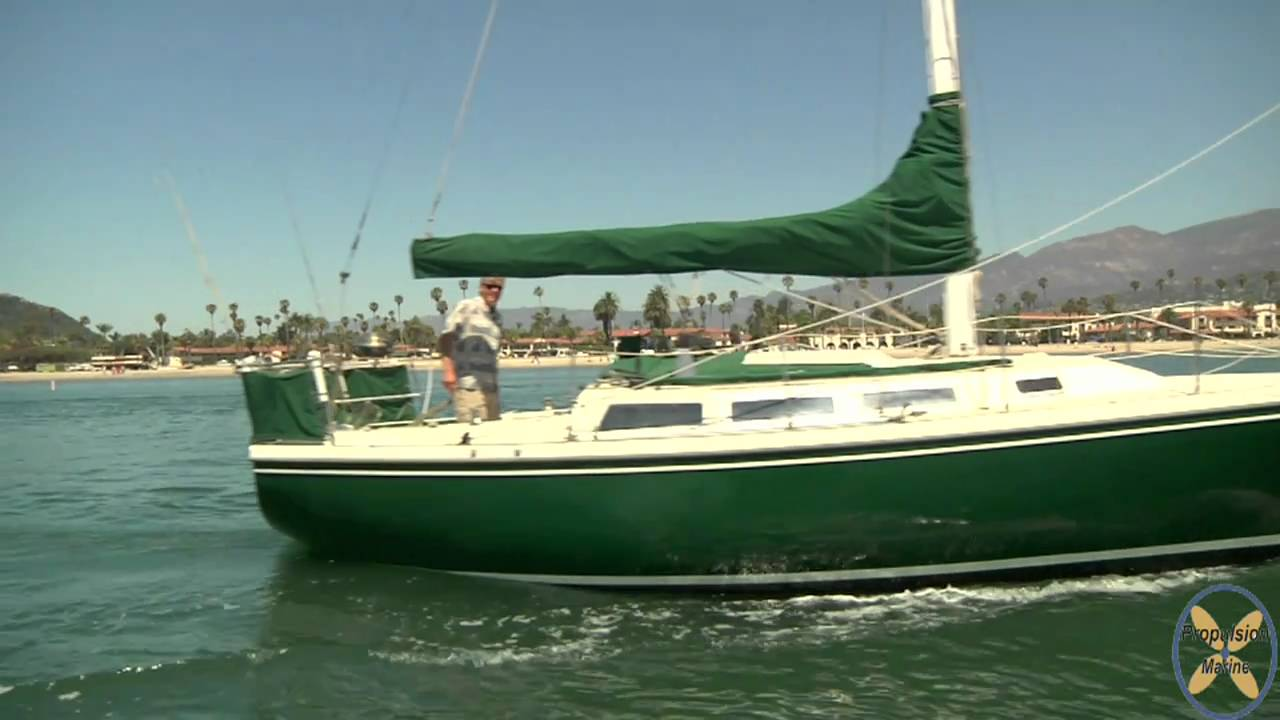 Electric Powered Sailboat By James Lambden Propulsion Marine Hd Youtube