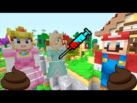 Minecraft Wii U - NEW Super Mario Adventures - ELSA IS PREGNANT, MARIO POOPS! [CRINGE] [16]