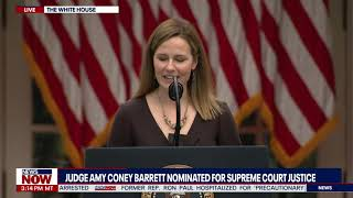 HISTORY IS MADE: President Trump Selects Judge Amy Coney Barrett For Supreme Court Justice