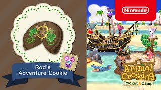 Animal Crossing: Pocket Camp - Rod's Adventure Cookie