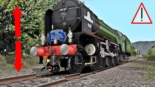 STEAM TRAINS BY THE MOST DEPLORABLE TRACKS OF TRAIN SIMULATOR