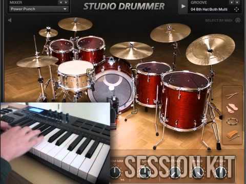 DEMO: Crazy Drum Solos with NI Studio Drummer