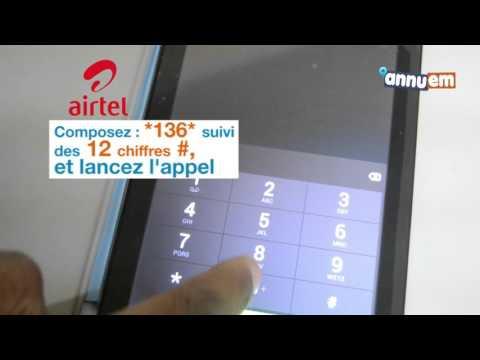 EM GUIDE - Comment recharger du crédit Airtel Gabon
