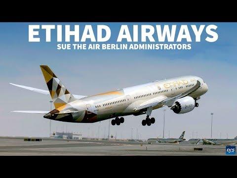 Etihad Airways files Lawsuit against Airberlin