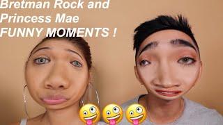 bretman rock and princess mae funny moments