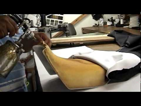 How To Redo Your Vinyl Seat YouTube - Stretch vinyl for motorcycle seat