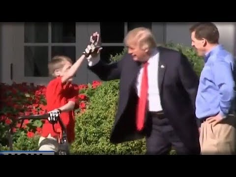 RIGHT AFTER YOUNG BOY MOWED THE WHITE HOUSE LAWN, NYT REPORTER DID SOMETHING INSANE