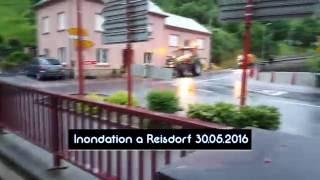 Inondation a Reisdorf (Luxembourg) 30.05.2016 [HD]