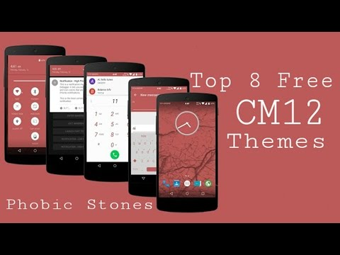 Top 8 Free CM12 Themes For Android L - Cyanogenmod