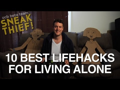 The 10 Best Lifehacks For Living And Possibly Dying Alone (VIDEO)