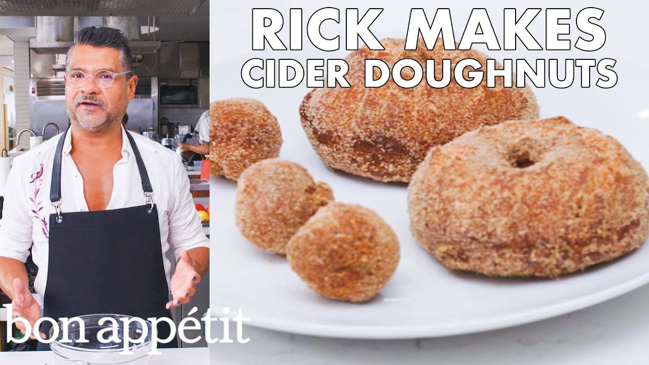 Rick Makes Apple Cider Doughnuts | From the Test Kitchen | Bon Appétit