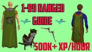 Runescape 3 - 1-99 Ranged 2018 Guide Cheap & Fast - HIGH XP per hour