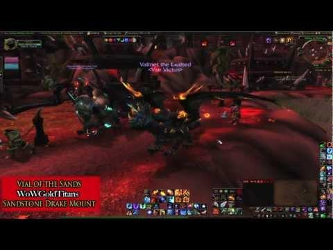 World of Warcraft - Sandstone Drake (Vial of the Sands)