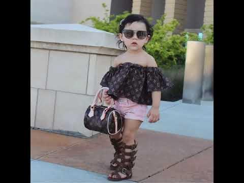 55584051b0a80 اجمل ملابس بنات اطفال اخر شياكة 2019 - YouTube