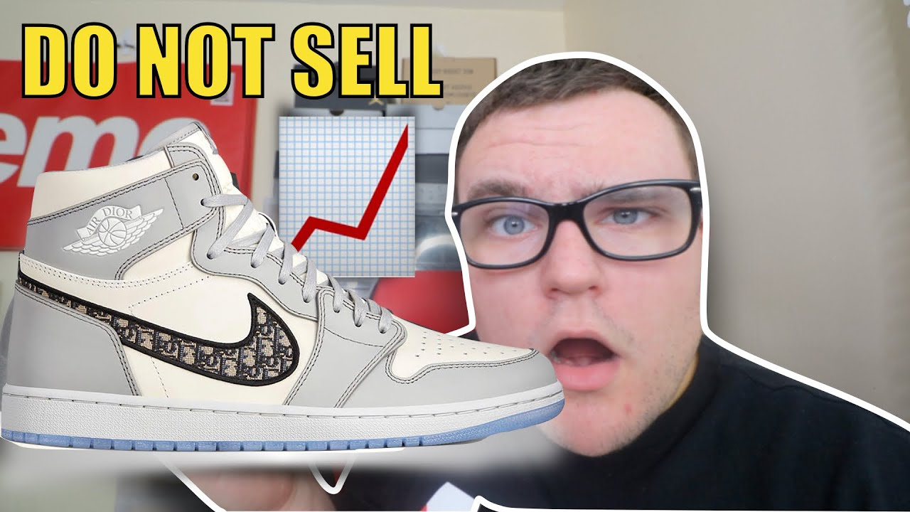 DO NOT SELL AIR JORDAN 1 DIOR 📈