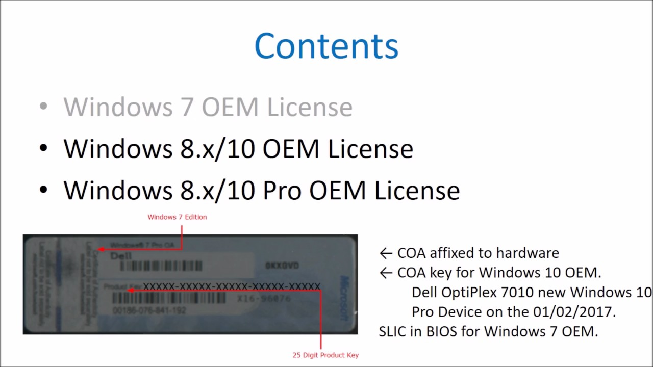 oem product key tool windows 10