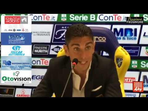23/04/2018: Frosinone – Empoli 2 – 4, conferenza stampa Moreno Longo
