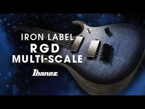 Ibanez Iron Label RGD Multi Scale - RGDIM6FM featuring Yusuke Hiraga
