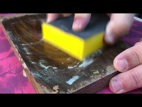 Solarez I Can't Believe It's Not Lacquer Test - YouTube