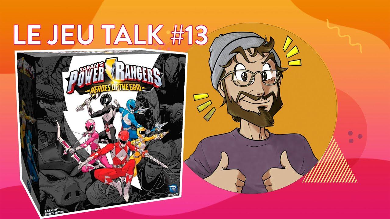 [Review] JEUTALK #13 Power Rangers : Heroes of the grid, une claque acrobatique !
