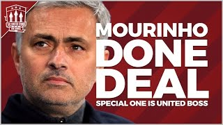 Jose Mourinho Welcome to Manchester United