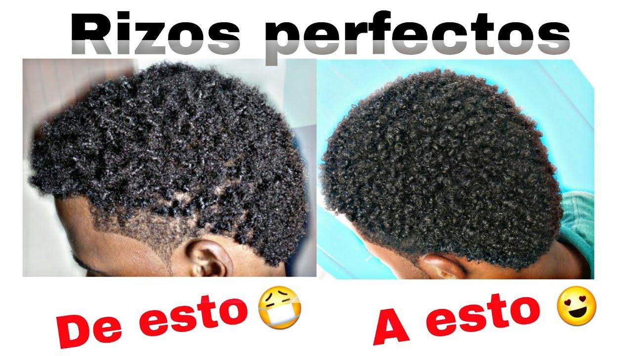 Como Rizar El Cabello En Hombres Con Afro Corto L Tipo 4 L Anny Crespa