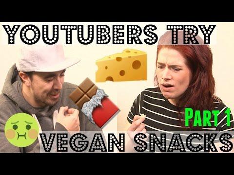 YOUTUBERS TRY VEGAN FOOD (Part 1) ♥ Cheap Lazy Vegan