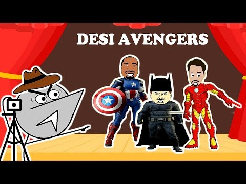 Desi Avengers Audition | Angry Director 4 thumbnail